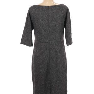 Gray sheath dress lela rose for Hsn 10